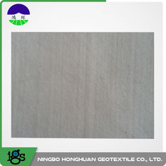 Cina White / Grey 100% Polyester Continuous Filament Nonwoven Geotextile Filter Fabric pemasok