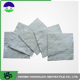 Cina 100% Polyester Continuous Filament Nonwoven Geotextile Filter Fabric Warna Abu-abu pemasok