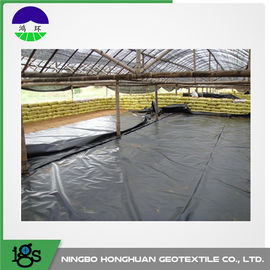 Cina Anticorrosion HDPE Geomembrane Liner Untuk Secondary Containment 1.25MM Distributor